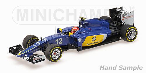 ミニチャンプス 1/43 ザウバー F1チーム フェラーリ C34 F.ナスル(ナッセ )2015(レジン製)