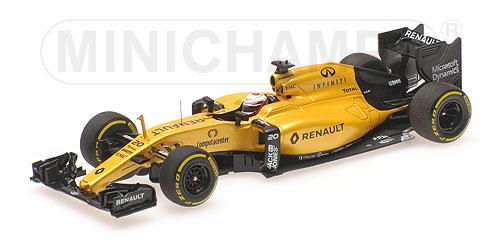 ミニチャンプス 1/43 ルノー F1 RS16 K.マグヌッセン 2016