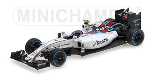 ミニチャンプス 1/43 ウィリアムズ FW38 V.ボッタス ブラジルGP 2016
