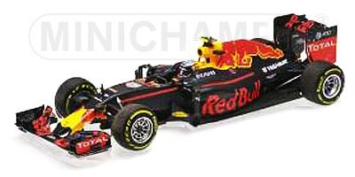 【並行輸入品】ミニチャンプス 1/43 レッドブル RB12  M.フェルスタッペン 2016年スペインGP初優勝
