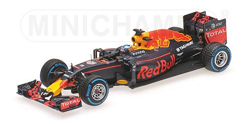 ミニチャンプス 1/43 レッドブル RB12 D.リカルド 2016年ブラジルGP