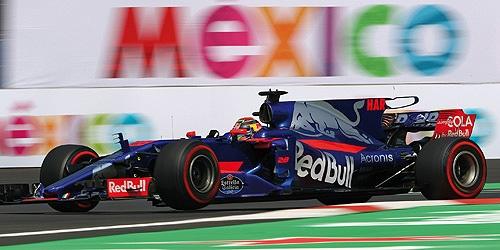 ミニチャンプス 1/43 トロロッソSTR12 B.ハートレー 2017年メキシコGP