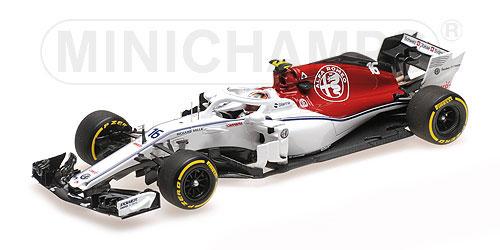 【並行輸入品】ミニチャンプス 1/43 アルファロメオ ザウバー F1 チーム フェラーリ C37 C.ルクレール 2018