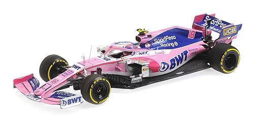 ミニチャンプス 1/43 レーシングポイント F1 RP19 L.ストロール 2019