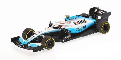 【再入荷】1/43 ウィリアムズ FW42  R.クビサ 2019