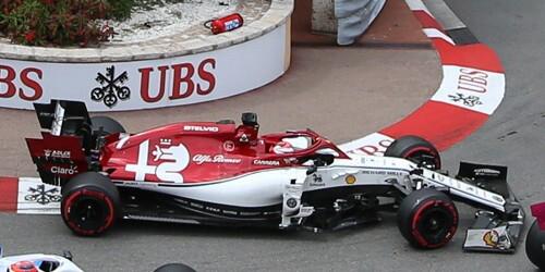 ミニチャンプス 1/43 アルファロメオ C38 K.ライコネン モナコGP 2019 F1通算300戦目