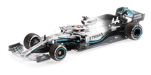 1/43 メルセデス W10 L.ハミルトン 2019年アメリカGP ワールドチャンピオン 限定2019pcs