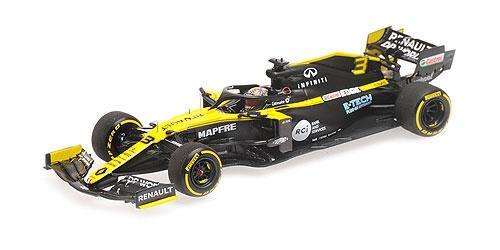 ミニチャンプス 1/43 ルノー F1 R.S.20 D.リカルド 2020 シーズン ローンチエディション