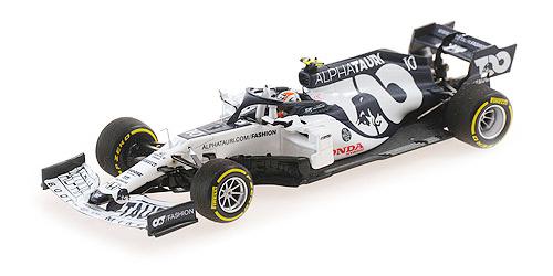 【並行輸入品】ミニチャンプス 1/43 アルファタウリ・ホンダ AT01 P.ガスリー 2020年イタリアGP 優勝