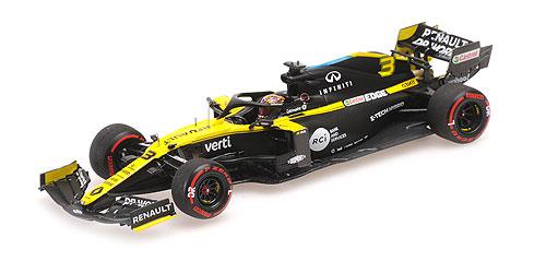 【再入荷】ミニチャンプス 1/43 ルノー F1 チーム R.S.20 D.リカルド アイフェルGP 2020 3位入賞