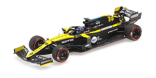 【再入荷】ミニチャンプス 1/43  ルノー F1チーム R.S.20 F.アロンソ 2020年バルセロナ テスト