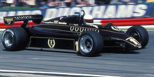 ミニチャンプス 1/43 ロータス フォード 91 E.D.アンジェリス 1982