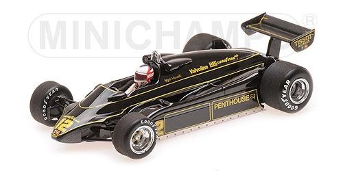 ミニチャンプス 1/43 ロータス フォード 91 N.マンセル 1982