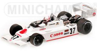 ミニチャンプス 1/43マーチ ホンダ F2 812 中嶋悟 ヨーロピアン F2 チャンピオンシップ 1982