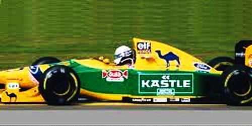 ミニチャンプス 1/43 ベネトン フォード B193B R.パトレーゼ 1993年イギリスGP 3位