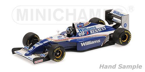 ミニチャンプス 1/43 ウィリアムズ ルノー FW16 D.ヒル 1994年ベルギーGP優勝(スパ・フランコルシャン)