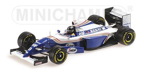 【並行輸入品】ミニチャンプス 1/43 ウィリアムズ ルノー FW16B D.ヒル 1994年日本GP優勝