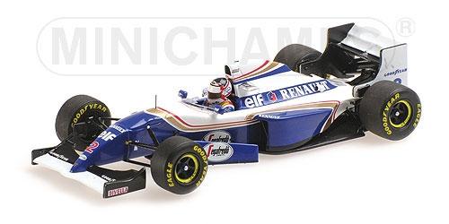 【並行輸入品】ミニチャンプス 1/43 ウィリアムズ ルノー FW16B N.マンセル 1994年オーストラリアGPラストウィナー