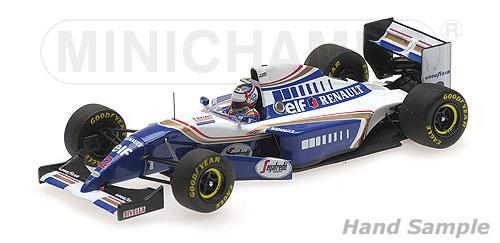 ミニチャンプス 1/43 ウィリアムズ ルノー FW16 N.マンセル 1994年フランスGP F1復帰
