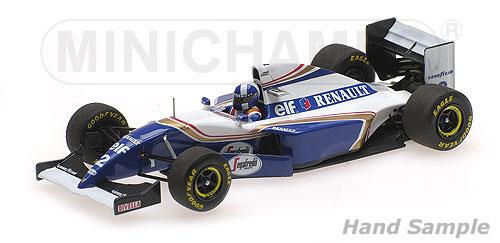 ミニチャンプス 1/43 ウィリアムズ ルノー FW16 D.クルサード 1994年スペインGP GPデビュー戦