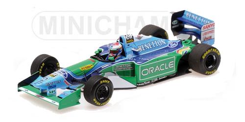 ミニチャンプス 1/43 ベネトンフォード B194 J.フェルスタッペン 1994年イギリスGP 200台限定