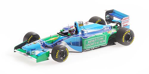 ミニチャンプス 1/43 ベネトン フォード B194 ヨス・フェルスタッペン ベルギーGP 1994