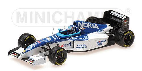 ミニチャンプス 1/43 ティレル ヤマハ 023 M.サロ 1995年ベルギーGP No.4