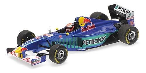 ミニチャンプス 1/43 ザウバー フェラーリ C16 J.ハーバート 1997