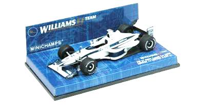 ミニチャンプス 1/43 ウィリアムズ BMW FW21 ランチカー ノンドライバー 2000 限定3333台