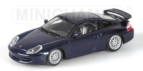 ミニチャンプス1/43 ポルシェ 911 GT3 1999 インディコブルーメタリック