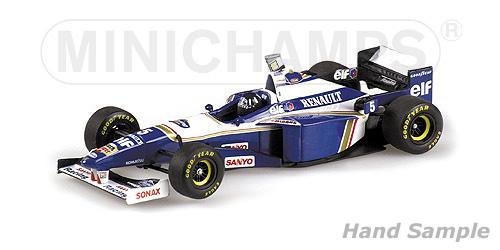 【ミニカーフェア対象】ミニチャンプス 1/43 ウィリアムズ FW18 D.ヒル