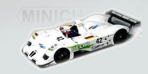 ミニチャンプス 1/43 BMW V12 LMR セブリング12 1999