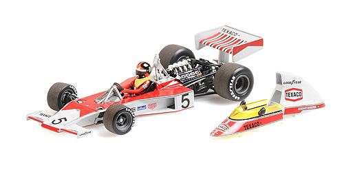 ミニチャンプス 1/43 マクラーレンM23 E.フィッティパルディ 1974年ワールドチャンピオン エンジン付