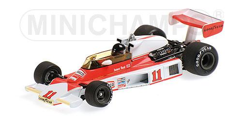 ミニチャンプス  1/43 マクラーレン フォード M23 J. ハント 1976 ワールドチャンピオンボックス
