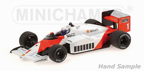 ミニチャンプス 1/43 マクラーレン TAG MP4/2C A.プロスト ワールドチャンピオン 1986