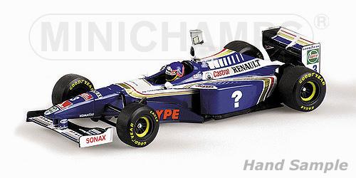 ミニチャンプス 1/43 ウィリアムズ ルノー FW19 J .ヴィルヌーブ 1997 ワールドチャンピオンボックス