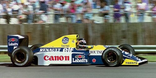 ミニチャンプス 1/43 ウィリアムズ ルノー FW13B T.ブーツェン 1990