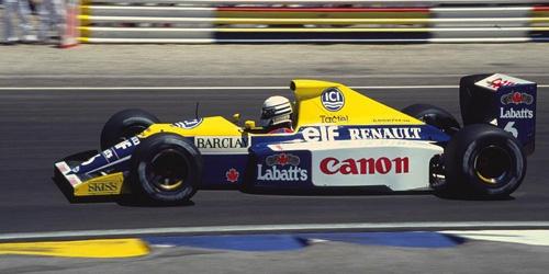 ミニチャンプス 1/43 ウィリアムズ ルノー FW13B R.パトレーゼ 1990
