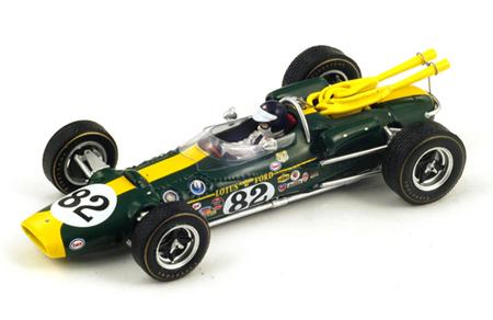 スパーク 1/43 ロータス38 ジム・クラーク 1965年インディ500優勝 No.82