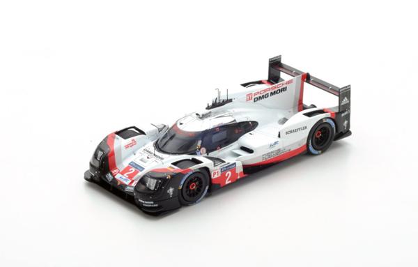 スパーク 1/43 ポルシェ 919 Hybrid  2017年ルマン24時間レース優勝 No.2 T.Bernhard-E.Bamber-B.Hartley