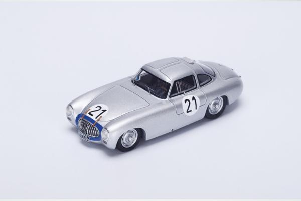 スパーク 1/43 メルセデス 300SL 1952年ルマン24時間 H. Lang - F. Riess No.21