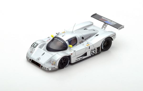 スパーク 1/43 ザウバーメルセデス C9 1989年ルマン24時間レース優勝 No.63