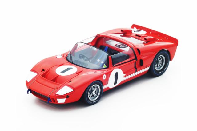 スパーク 1/43 フォード GT-X1 1966年セブリング12時間優勝 No.1 K.Miles-L.Ruby