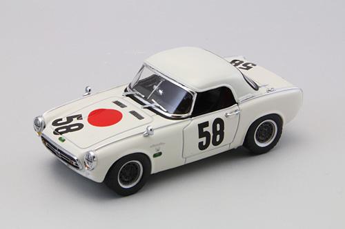 エブロ 1/43 生沢コレクション HONDA ホンダ S800 レーシング  1967年ニュルブルクリンク 500km