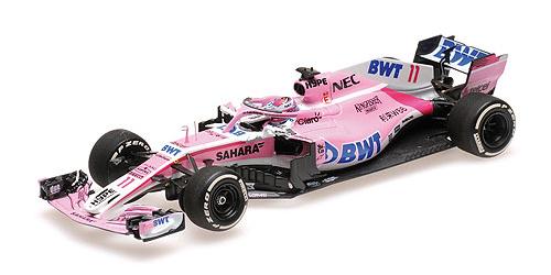 ミニチャンプス 1/43 フォースインディア F1 VJM11 S.ペレス スペインGP 2018 PMA特注品