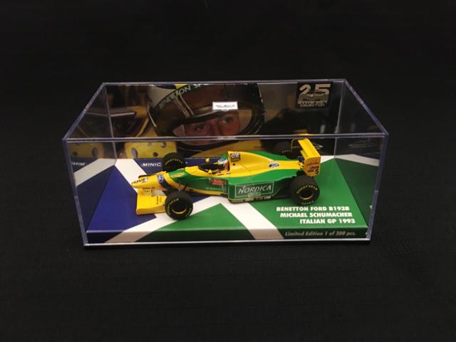 【再入荷】海外別注 ミニチャンプス 1/43 ベネトンB193B M.シューマッハ 1993年イタリアGP No.5