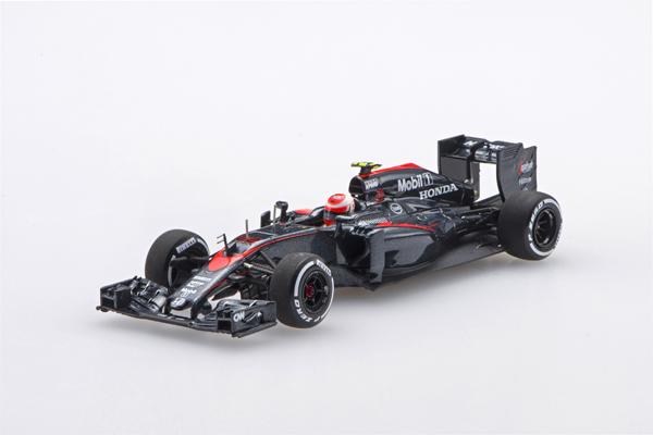 エブロ 1/43 マクラーレン ホンダMP4-30 J.バトン 2015年日本GP No.22