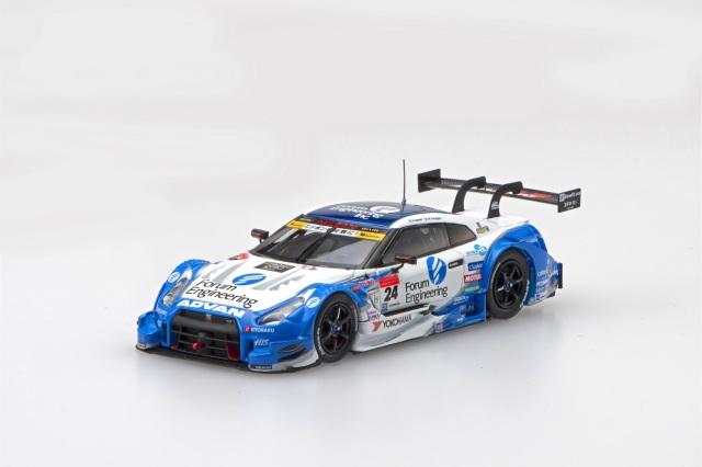 エブロ スーパーGT2016 1/43 フォーラム エンジニアリング アドバン GT-R 2016 Rd.2 FUJI No.24
