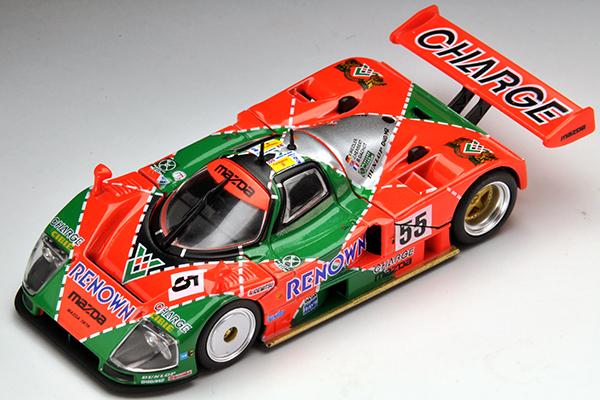トミカリミテッドヴィンテージネオ 1/64マツダ787B 1991年ルマン24時間レース優勝