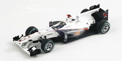 スパーク 1/43 ザウバーC29 N.ハイドフェルド 2010年日本GP